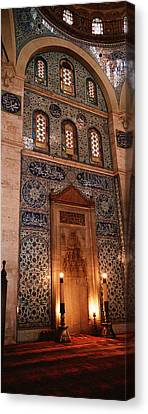 Rustem Pasa Mosque Istanbul Turkey Canvas Print by Panoramic Images