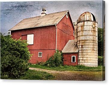Rustic Barn Canvas Print by Bill Wakeley
