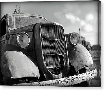 Canvas Print featuring the photograph Rustic Beauty by Micki Findlay