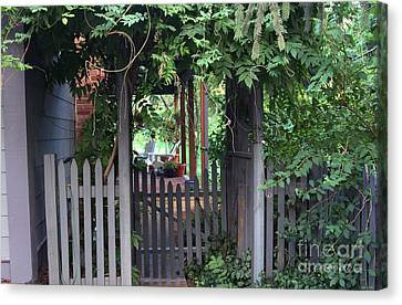 Rustic Charm Canvas Print by Yvonne Wright