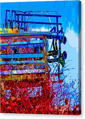Rustic Docks Canvas Print by Brian Stevens
