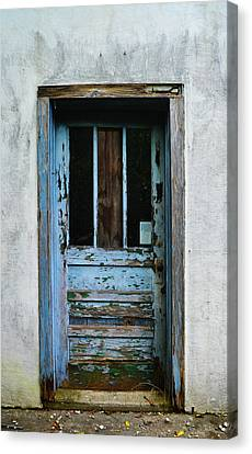 Rustic Door Canvas Print