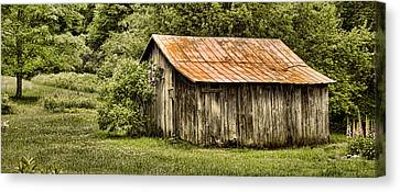 Rustic Canvas Print by Heather Applegate