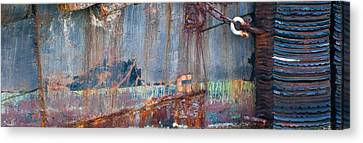 Rustic Hull 2 Canvas Print by Jani Freimann