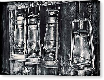 Rustic Lanterns Canvas Print by Kelley King