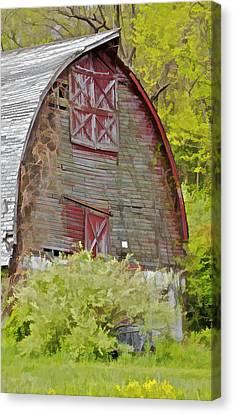 Rustic Red Barn II Canvas Print