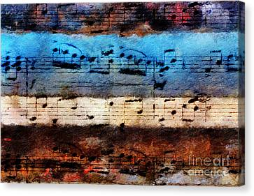 Rustic Rondo Canvas Print by Lon Chaffin