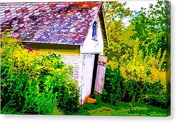 Rustic Shed 2 Canvas Print