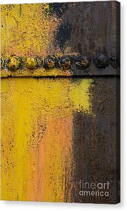 Rusting Machinery Canvas Print by John Shaw