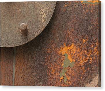 Rusty Abstraction Canvas Print