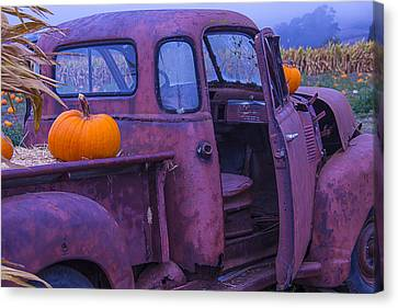 Rusty Autumn Canvas Print by Garry Gay