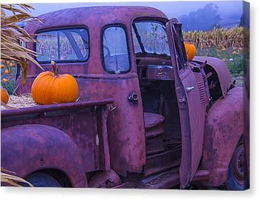 Rusty Autumn Canvas Print