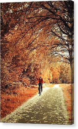 Rusty Autumn. Holland Canvas Print by Jenny Rainbow