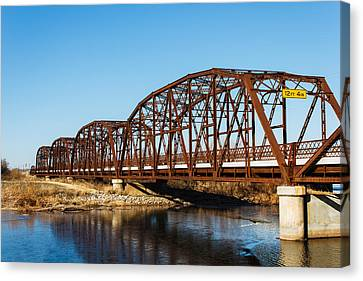 Rusty Bridge Canvas Print by Doug Long