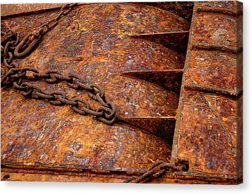 Canvas Print featuring the photograph Rusty by Dorin Adrian Berbier