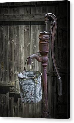 Old Water Pump Canvas Prints Fine Art America