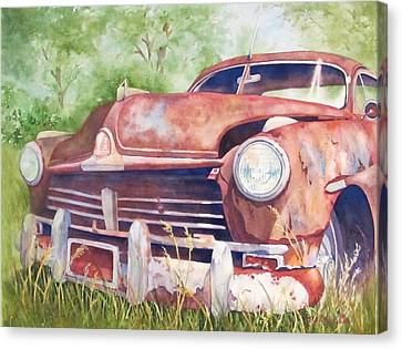 Rusty Relic Canvas Print