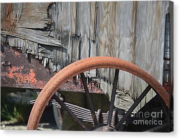Rusty Rim Trusty Springs  Canvas Print by Brian Boyle