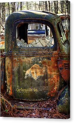 Rusty Rino Canvas Print