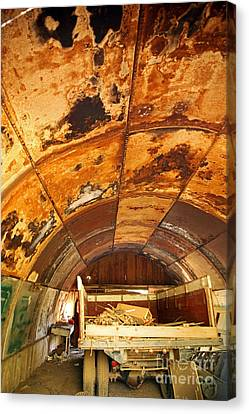 Rusty Roundtop Canvas Print