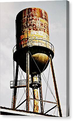 Rusty Tank Canvas Print by Chastity Hoff