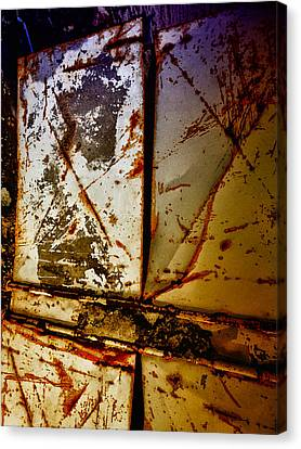 Rusty X Canvas Print