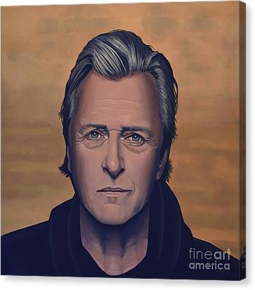 Rutger Hauer Canvas Print by Paul Meijering