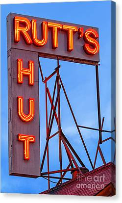 Rutt's Hut Canvas Print by Jerry Fornarotto