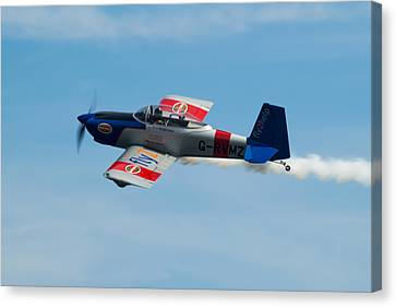 Canvas Print featuring the photograph Rv8tors Flyby Wave by Scott Lyons