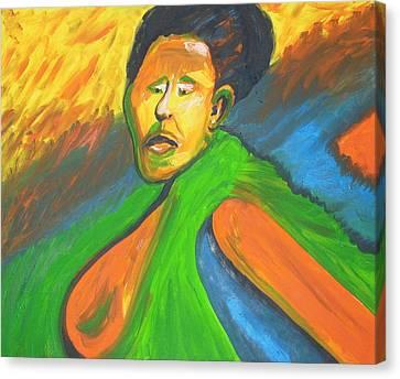 Rwanda Rage Canvas Print by Esther Newman-Cohen