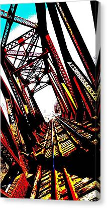 Rxr Bridge Polarized Canvas Print