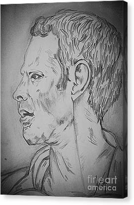 Ryan Giggs Art Canvas Print
