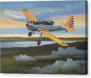 Ryan Pt-22 Recruit Canvas Print by Stuart Swartz