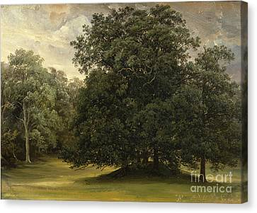 Fearnley Canvas Print - Rydal Park by Thomas Fearnley