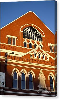 Ryman Auditorium Canvas Print by Brian Jannsen