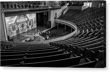 Ryman Stage Canvas Print