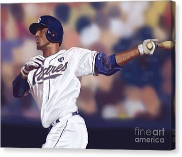 Diamondbacks Canvas Print - Rymer Bomb by Jeremy Nash
