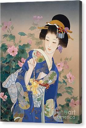 Ryo Canvas Print by Haruyo Morita