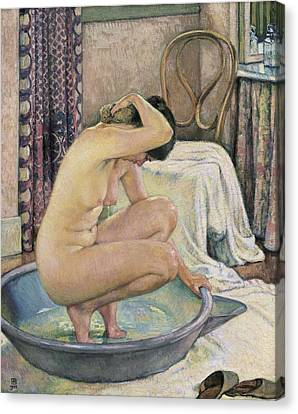 Rysselberghe, Theo Van 1862-1926. Nude Canvas Print by Everett