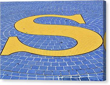 S Is For ...... Canvas Print by Tikvah's Hope