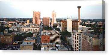 Shawn Marlow Canvas Print - Sa Skyline 003 by Shawn Marlow