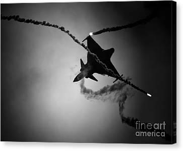 Saab Jas-39 Gripen Canvas Print
