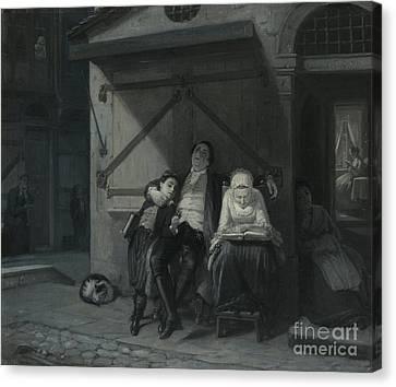 Sabbath Rest  Canvas Print by Celestial Images
