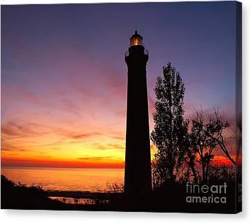 Sable Point Sunset Canvas Print