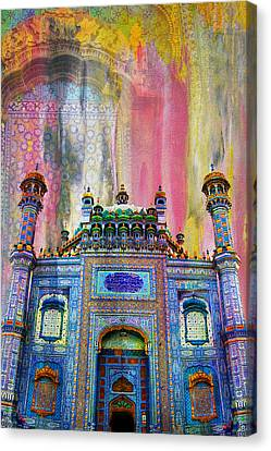 Baltit Canvas Print - Sachal Sarmast Tomb by Catf