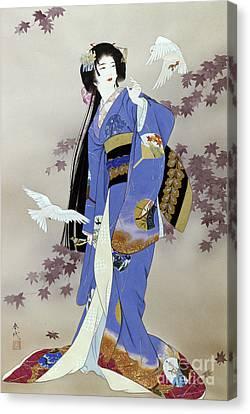 Sachi Canvas Print by Haruyo Morita