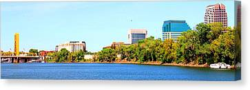 Sacramento Canvas Print by Cindi Cereceres
