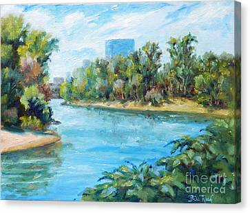Sacramento River Confluence Canvas Print