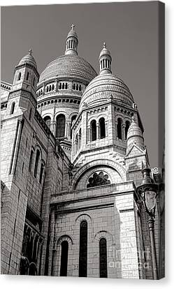Sacre Coeur Architecture  Canvas Print