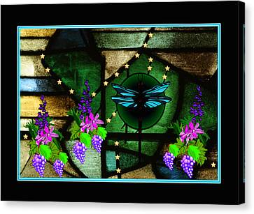 Sacred Garden Canvas Print by Mary Anne Ritchie